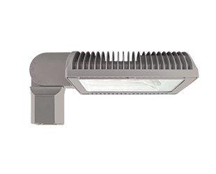 RAB Lighting RWLED4T78NSFRG Gray Roadway Type IV 78W 4000K Neutral LED Slipfitter Roadway Light