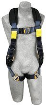 3M DBI-SALA 1110842 ExoFit STRATA XP Arc Flash Full Body Harness, Large, Blue/Navy