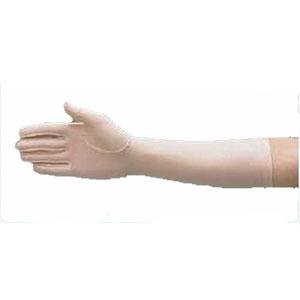 (Compression Edema Glove Left Full Finger Large, Tan, Over the Wrist Length, Reusable, Latex-free - 1 ct.)