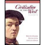 Civilization in the West, Kishlansky, Mark A. and Geary, Patrick J., 0136007066