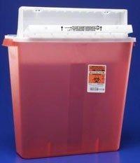 4 gallon sharps container - 1