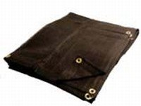 10 X 20 Heavy Duty Black Mesh Tarp (Tool 16' Bag Canvas)