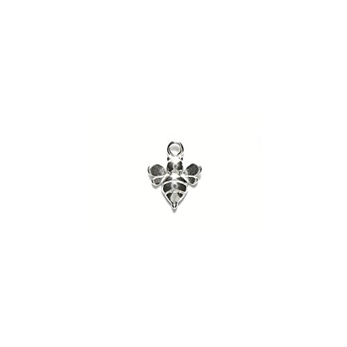 Amoracast Sterling Silver Baby Bumble Bee 8x11mm, 8 x 11mm