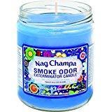 Smoke Odor Exterminator 13 oz Jar Candles Nag Champa, (3)