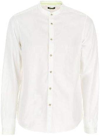 Imperial - Camisa con Cuello Oficial Blanco L: Amazon.es: Ropa y accesorios