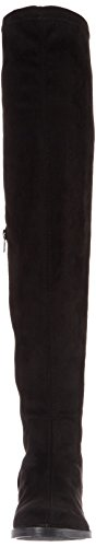 Bianco Casual Overknee, Bottines Femme Noir (Black 10)
