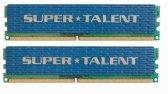 Super Talent DDR2-800 2GB (2x1GB) Memory Kit T800UX2GV ()