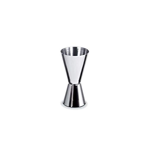Premium Cocktail Martini Mixologist Stainless Steel Double Jigger 60 30 ML & Shaker 750ml Set - Professional Bar Drink Wine Tool Restaurant Home by Unique Imports (Image #2)