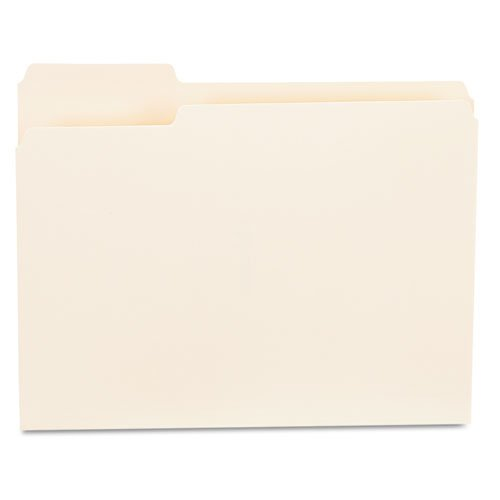 1st Position Manila File Folders (Universalï - File Folders, 1/3 Cut First Position, One-Ply Top Tab, Letter, M...)