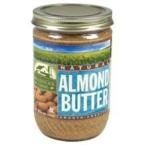 Woodstock Almond Butter Unsalted Smooth, 16 oz