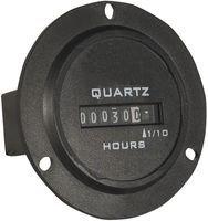 - Redington Counters, Inc. 722-0004 Hour Meter, 3-Hole Round, 90-240VAC 50/60Hz, 6 figure, Hours & 1/10s (Original Version)