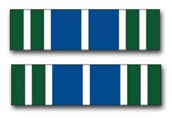 United States Army Achievement Medal Ribbon Decal Sticker 3.8