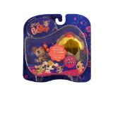 Littlest Pet Shop: Pairs and Portables - Mouse with Cupcake -