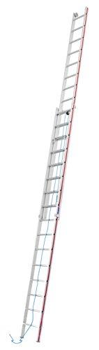 Seilzugleiter, zweiteilig 2x16 Sprossen 8,30m Länge