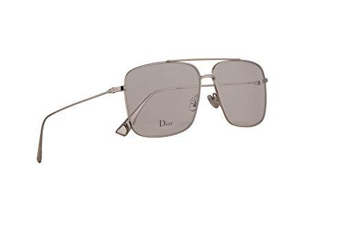 Christian Dior DiorStellaire03 Eyeglasses 57-13-145 Palladium w/Demo Clear Lens 010 DiorStellaireO3 Dior StellaireO3 Dior Stellaire03 DiorStellaireo3 DiorStellaireo 3
