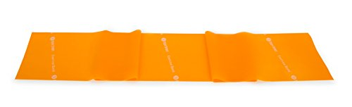 (Body Sport Exercise Bands - 25 yd. Rolls of Resistance Bands for Stretching, Fitness or Physical Therapy, Non-Latex - Medium Resistance - Orange)