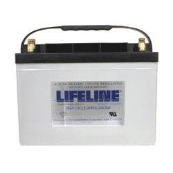 Batteries Agm Lifeline - Lifeline Marine AGM Battery - GPL-27T