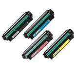 Unknown Compatible Toner Cartridge Replacement for HP CE250X ( 4-Pack )