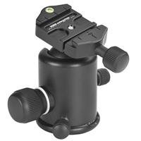 - Kirk BH-3 Ball Head with Quick Release Platform, 15 lbs (6.8kg) Load Capacity