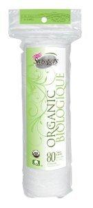 Organic Essentials Organic Cotton Rounds (Cosmetic Rounds (80) Organic Cotton Makeup Pads Organic Essentials Brand: Organic Essentials)