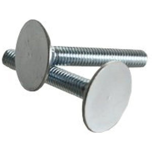 FT 5//16-18x3, Quantity 50 Grade 2 Flat COUNTERSUNK Head Elevator Bolt ZINC CR+3 INCH