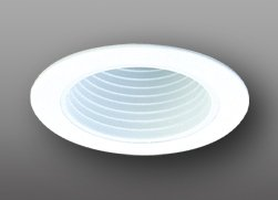 "Phenolic Baffle Trim (Elco Lighting ELP530W 5"" Phenolic Baffle - ELP530 (CFL))"
