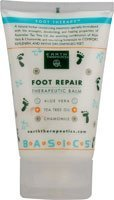Earth Therapeutics Foot Repair Balm 4 oz ( Multi-Pack) by Earth Therapeutics