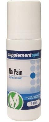 No Pain Capsaicin Lotion, 3 oz roll-on bottle