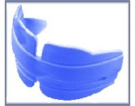 Orthocare Totalgard Medium Blue Mouthguard