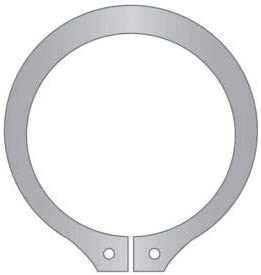 Stamped DSH-007-SS DIN 471 Standard Duty 7mm External Snap Ring 15-7//17-7 Stainless Steel Pkg of 125