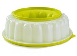 Tupperware Jel Ring Gelatin Mold With Lid
