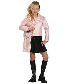 [Harley Davidson Pink Jacket Kids Costume Small] (Biker Kid Costume)