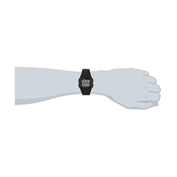 Casio Collection W-800H-1AVES, Reloj Digital Unisex, Negro 7