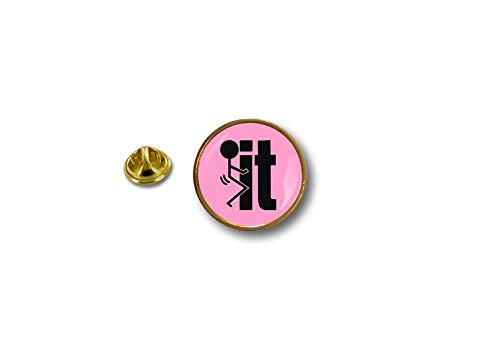 Metal Akacha F It Pin Pink Biker Biker Badge Pins EURpqU7