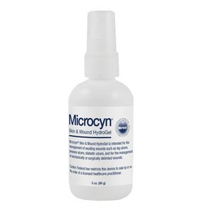 OI84872 - Microcyn Skin and Wound Hydrogel Spray, 3 oz.