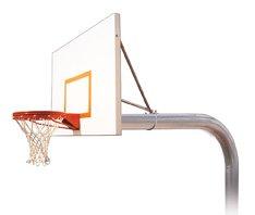 最初チームBrute Playgroundスチールで地面固定高さバスケットボールsystem44 ;マルーン B01HC0D36I