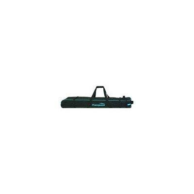 Classic Series Ski Vault Double Pro Bag Color: Black w/ Blue Electric -