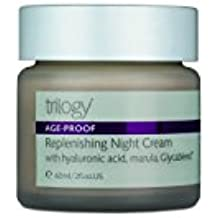 Trilogy Age Proof Replenishing Night Cream for Unisex, 2 Ounce