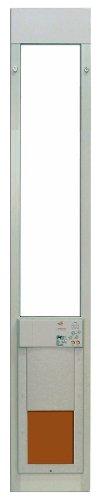 Medium Power Pet Sliding Glass Dog Large 96 inches (Automatic Dog Door For Sliding Glass Door)