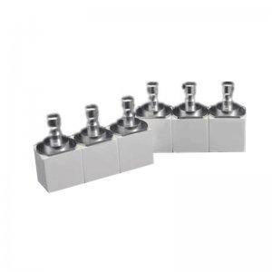 Dental Zirconia Ceramic Blocks High Translucent Sirona System 40x15x19mm