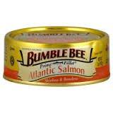 Bumble Bee Salmon, Atlantic 5 oz (Pack of 12)