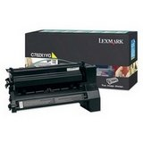 Lexmark C782X1YG OEM Toner - C782 X782e Extra High Yield Yellow Return Program Toner 15000 (C782 Yellow High Yield)