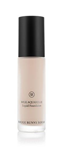 Rouge Bunny Rouge Liquid Foundation- MILK AQUARELLE - Chestnut Milk (Liquid Rouge)