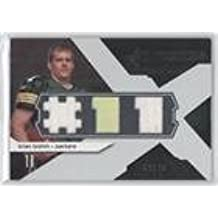 Brian Brohm #12/175 (Football Card) 2008 SPx - Rookie Winning Materials - Dual Jersey Player Jersey Numbers 175 #RM-BB