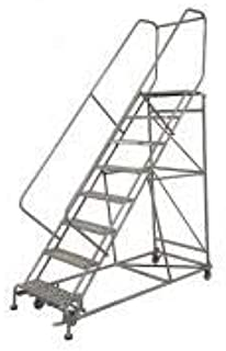 product image for Cotterman 2614R3242A3E12B4W4C1P3 - Rolling Ladder Steel 182In. H. Gray