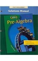 Pre-algebra Solutions Manual