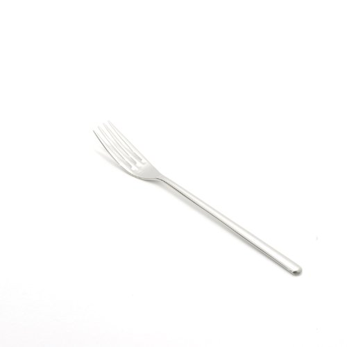 Fortessa Dragonfly 18/10 Stainless Steel Flatware Appetizer/Cake Fork, 6.7-Inch, Set of ()