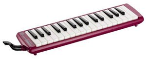 Hohner S32R - Red Student Melodica by Hohner Accordions (Image #1)