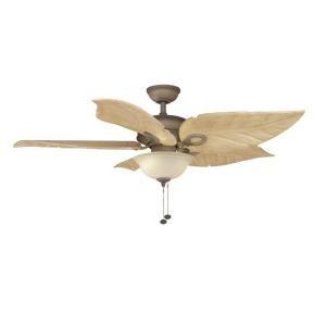 Cheap Hampton Bay Costa Mesa 56 In. Indoor and Outdoor Weathered Zinc Ceiling Fan