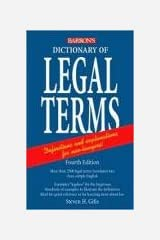 Dictionary of Legal Terms: A Simplified Guide to the Language of Law Paperback